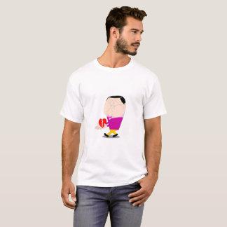 Camiseta coração quebrado do t-shirt