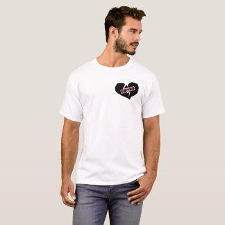 Camiseta Coração remendado