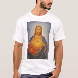 Camiseta Coração sagrado de Jesus