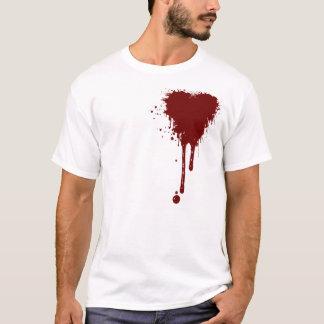 Camiseta Coração sangrento