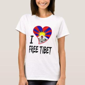 Camiseta coração tibetano