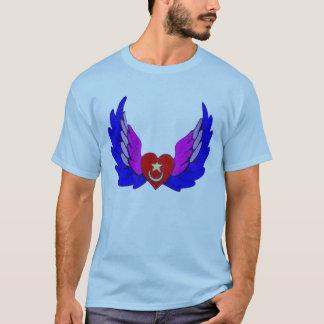 Camiseta Coração voado brilhante de Sufi