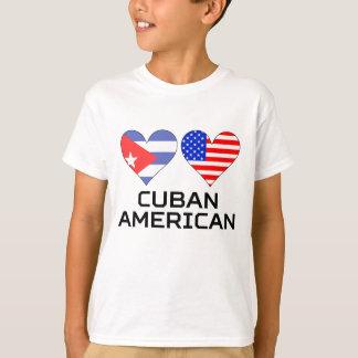 Camiseta Corações americanos cubanos