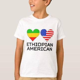 Camiseta Corações americanos etíopes