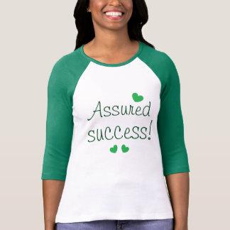 Camiseta Corações assegurados do verde das citações do