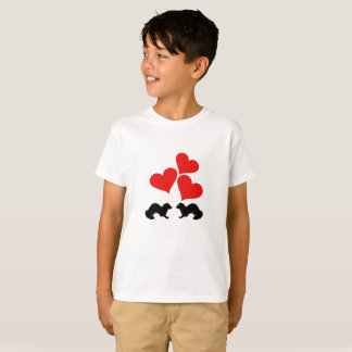 Camiseta Corações & doninhas