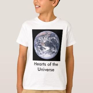 Camiseta Corações dos miúdos do universo