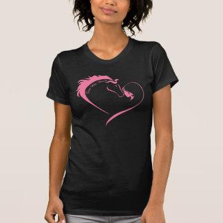 Camiseta Corações uma vez selvagens - t-shirt das senhoras