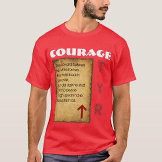 Camiseta Coragem de Havamal
