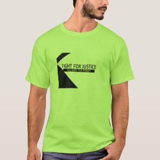 Camiseta Coragem lutar o t-shirt - personalizado