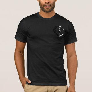 Camiseta Coragem preto e branco da pia batismal japonesa