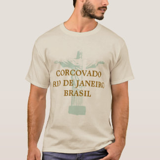 Camiseta corcovado riodejaneiro Brasil