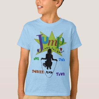 Camiseta corda de salto