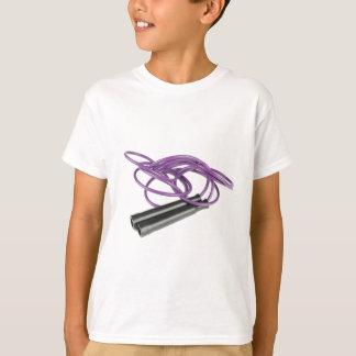 Camiseta Corda de salto roxa