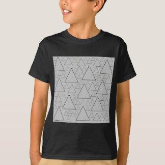 Camiseta cordilheiras e viagens do dia