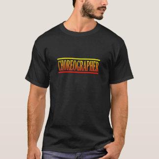 Camiseta Coreógrafo colorido