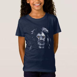 Camiseta Cores bonitas do rei Leão Refrigerar Gráfico Azul
