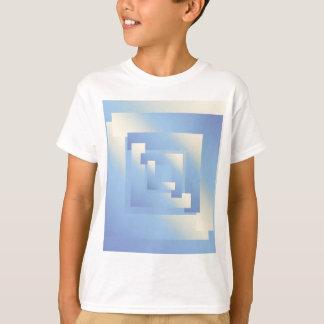 Camiseta cores brilhantes do céu
