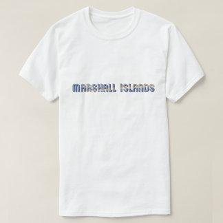 Camiseta Cores da bandeira da tipografia de Marshall