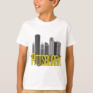 Camiseta Cores da cidade de Pittsburgh
