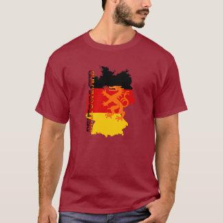 Camiseta Cores da queda de Oktoberfest da alemanha