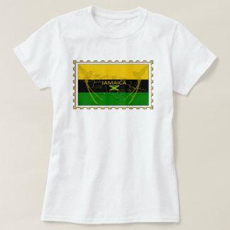 Camiseta Cores de Jamaica que zumbem o t-shirt do selo dos