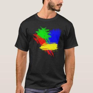Camiseta Cores de Techno
