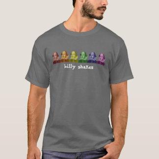 Camiseta cores de William Shakespeare, agora com texto!!