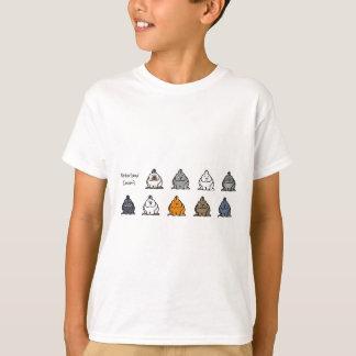 Camiseta Cores do anão de Netherland