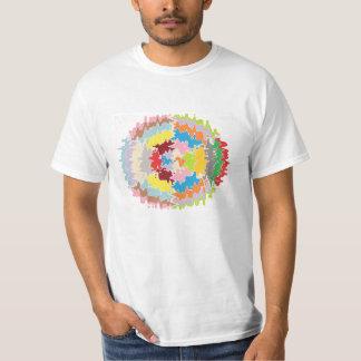 Camiseta Cores do arco-íris de EBR:  Equilíbrio de energia