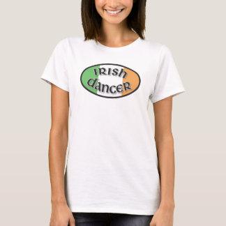 Camiseta Cores irlandesas do dançarino do t-shirt de