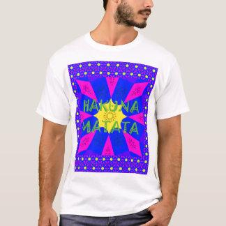 Camiseta Cores surpreendentes bonitas do design de Hakuna