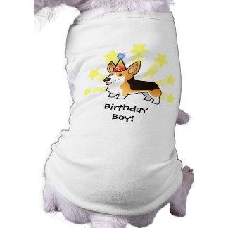 Camiseta Corgi de Galês do Pembroke do aniversário