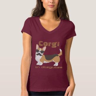 Camiseta Corgi de Galês, no disfarce