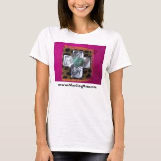 Camiseta coroa cor-de-rosa, www.SterlingMuse.com