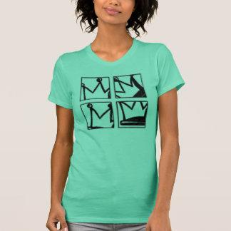 Camiseta coroa do quadrilátero