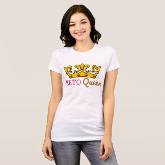 Camiseta Coroa engraçada da rainha do Keto
