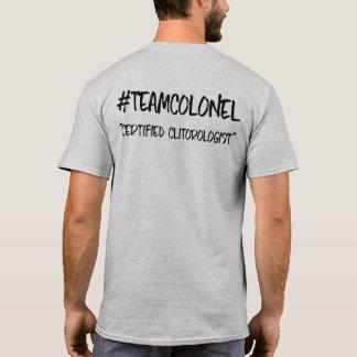 Camiseta Coronel Certificação T da equipe