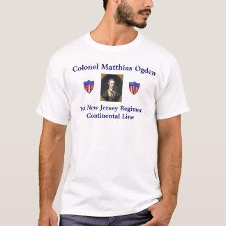 Camiseta Coronel Matthias Ogden
