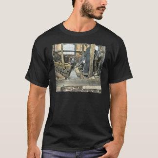Camiseta Corrediça de lanterna mágica 2 dos trabalhadores