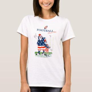 Camiseta Corredor da fama do futebol, fernandes tony