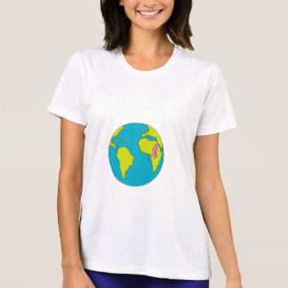 Camiseta Corredor de maratona que funciona Ámérica do Sul