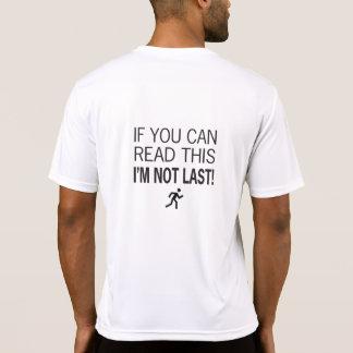 Camiseta Corredor de maratona se você pode ler este