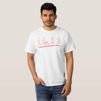 Camiseta Corredores de maratona