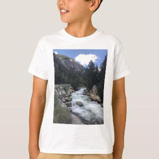 Camiseta Córrego da montanha rochosa