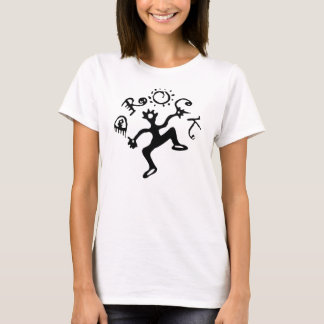 Camiseta Correia de espaguetes da mulher