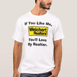 Camiseta Corretores de imóveis de Weichert - esposa