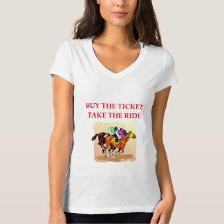 Camiseta corrida de cavalos