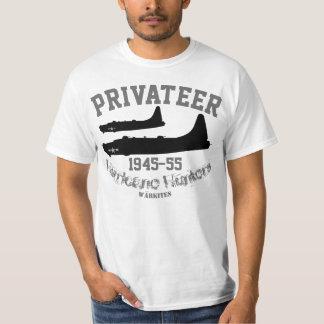 """Camiseta Corsário do """"caçadores de Warkites PB4Y furacão """""""