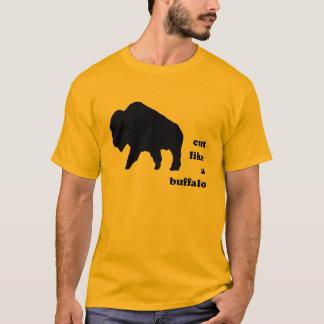 Camiseta corte como um búfalo